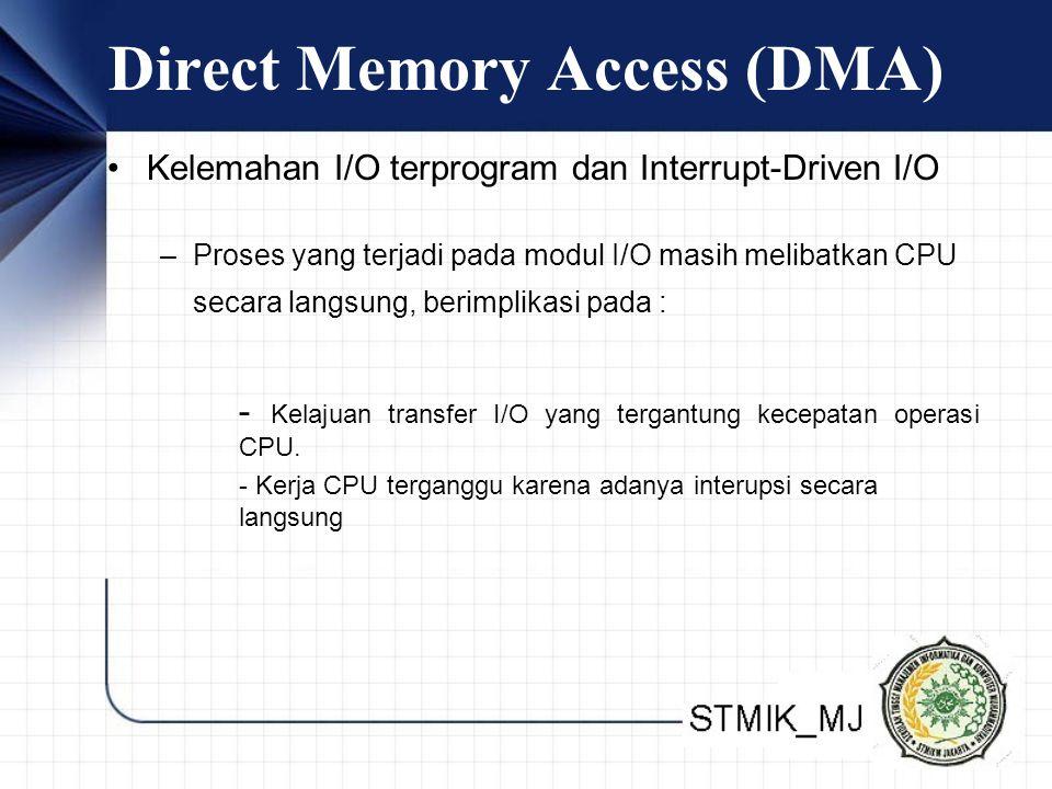 Direct Memory Access (DMA)