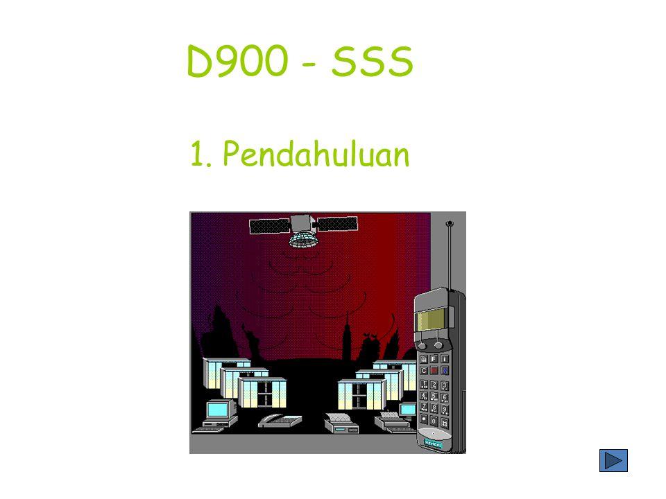 D900 - SSS 1. Pendahuluan
