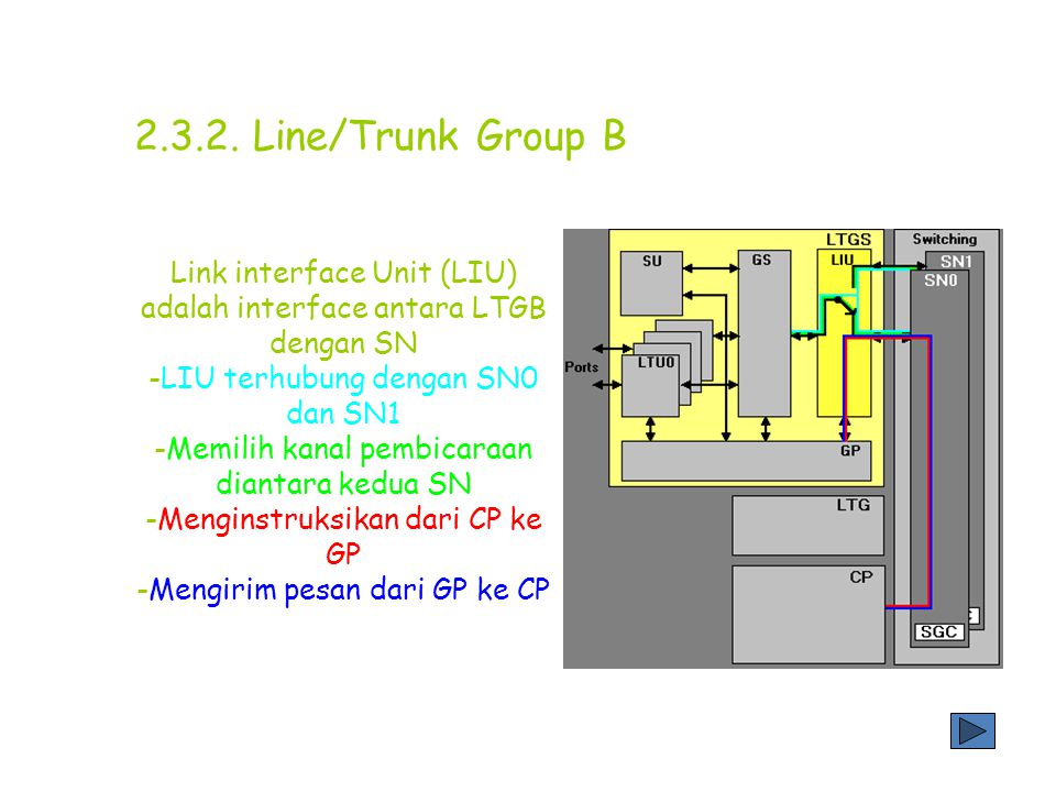 Line/Trunk Group B