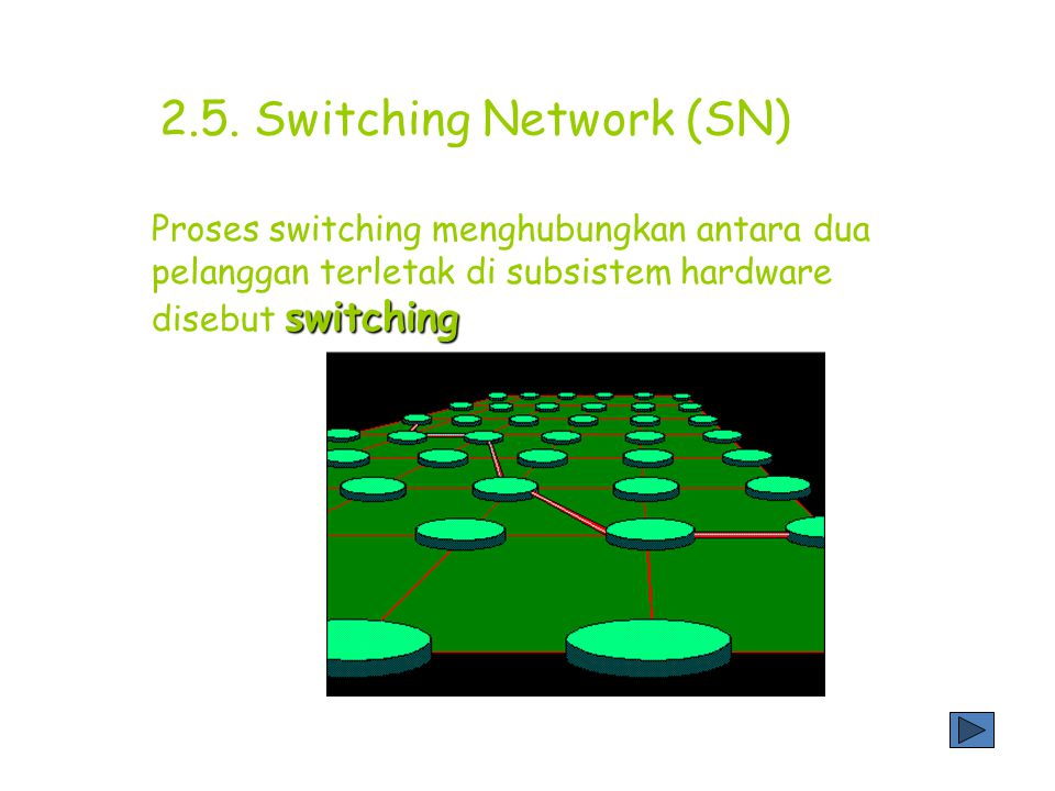 2.5. Switching Network (SN)