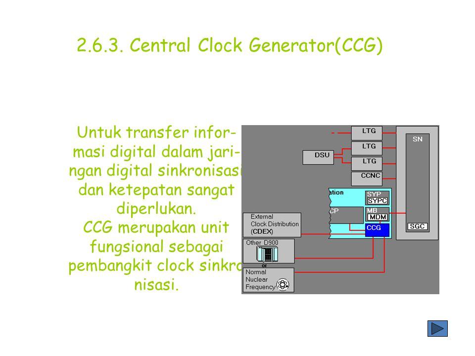 2.6.3. Central Clock Generator(CCG)