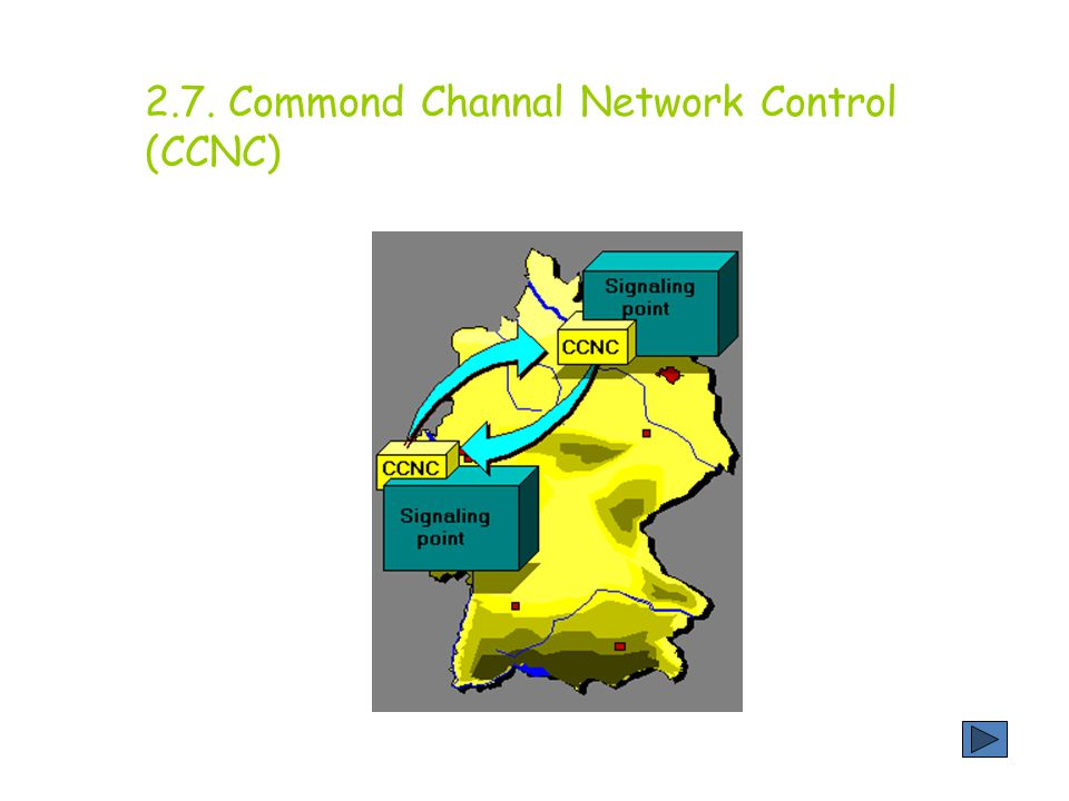 2.7. Commond Channal Network Control (CCNC)