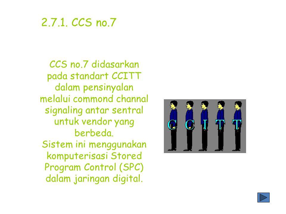 2.7.1. CCS no.7