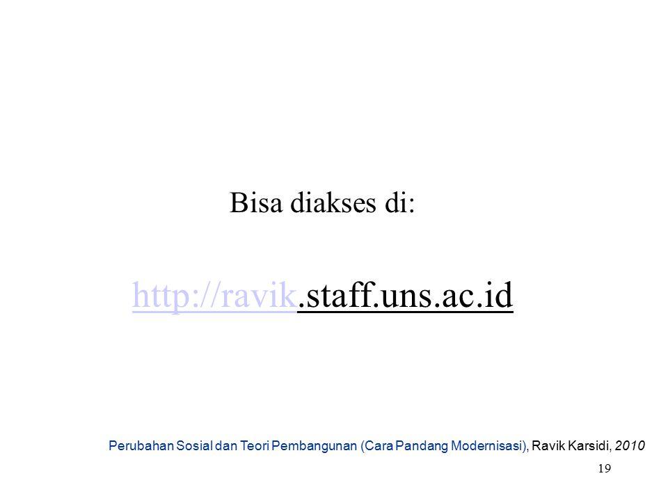 http://ravik.staff.uns.ac.id Bisa diakses di: