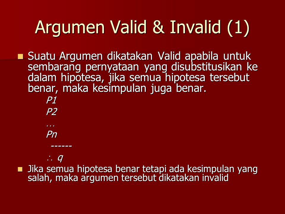 Argumen Valid & Invalid (1)