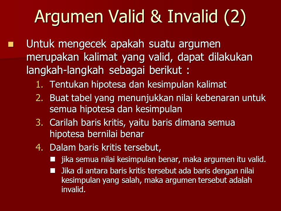 Argumen Valid & Invalid (2)