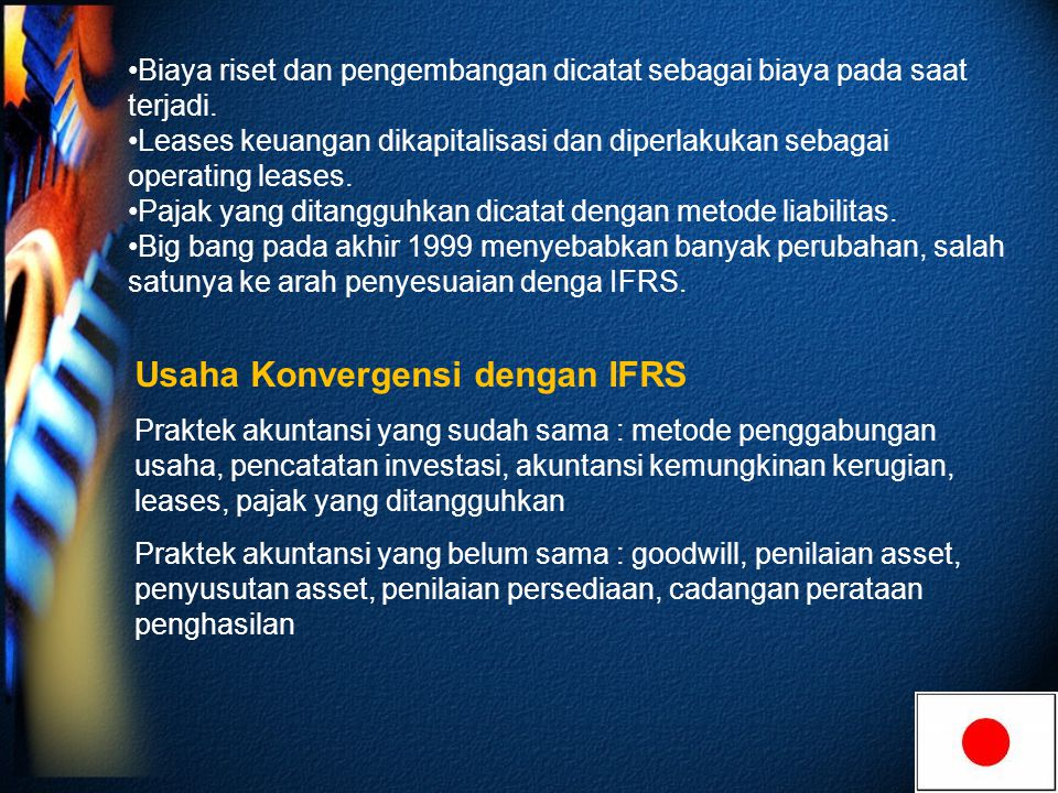 Usaha Konvergensi dengan IFRS