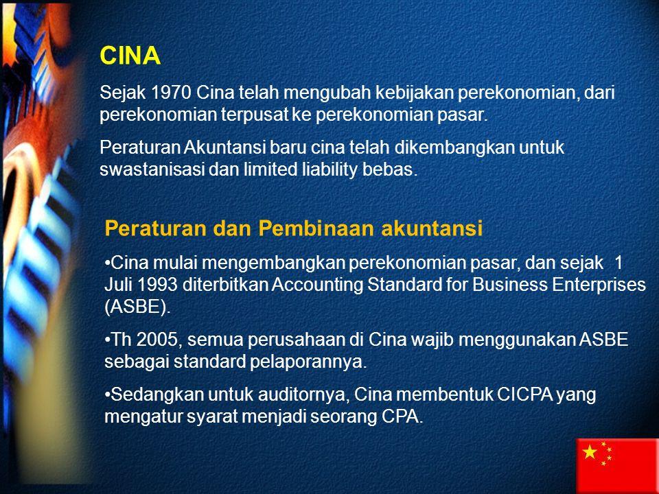 CINA Peraturan dan Pembinaan akuntansi