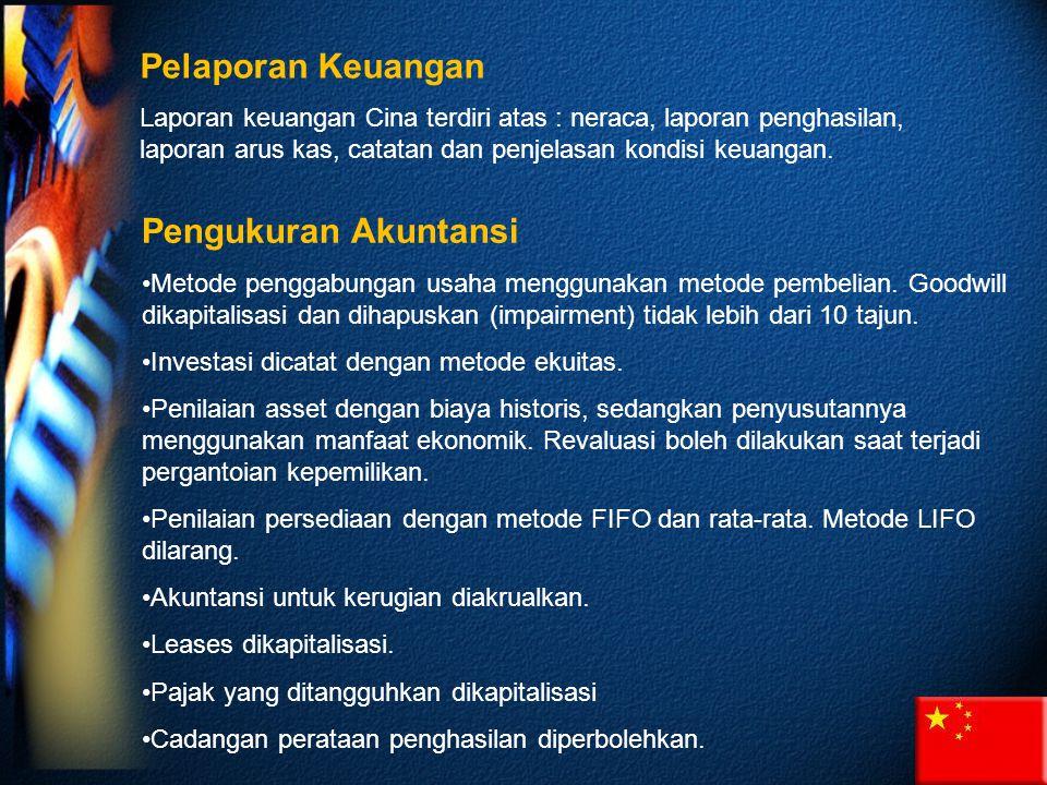 Pelaporan Keuangan Pengukuran Akuntansi