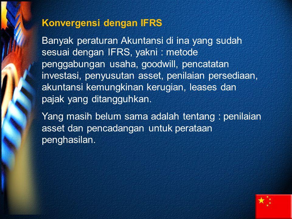 Konvergensi dengan IFRS