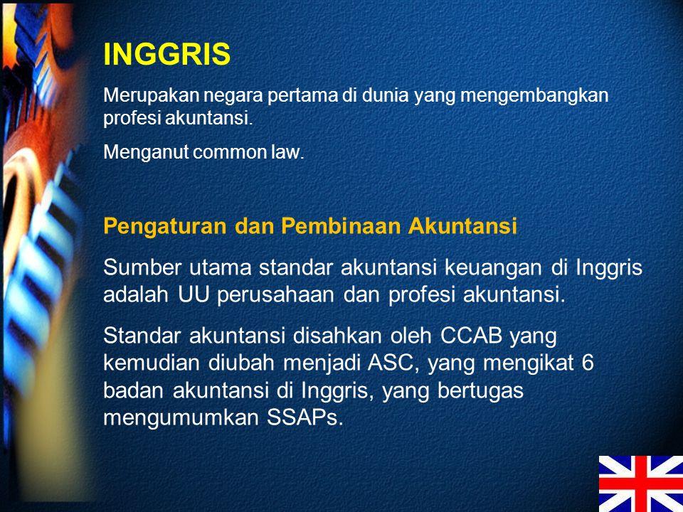 INGGRIS Pengaturan dan Pembinaan Akuntansi