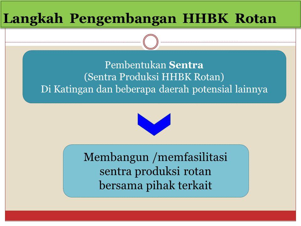 Langkah Pengembangan HHBK Rotan