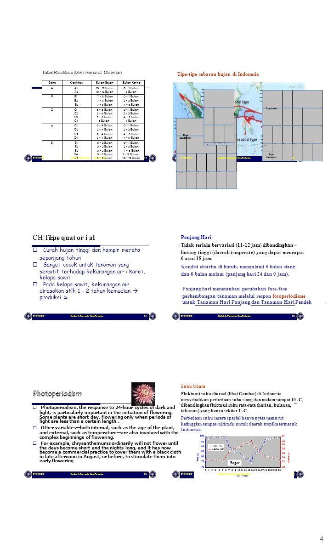 Tipe E4 0 - 2 Bulan Tipe 4 CH Ti pe quat or i al E Photoperiodism