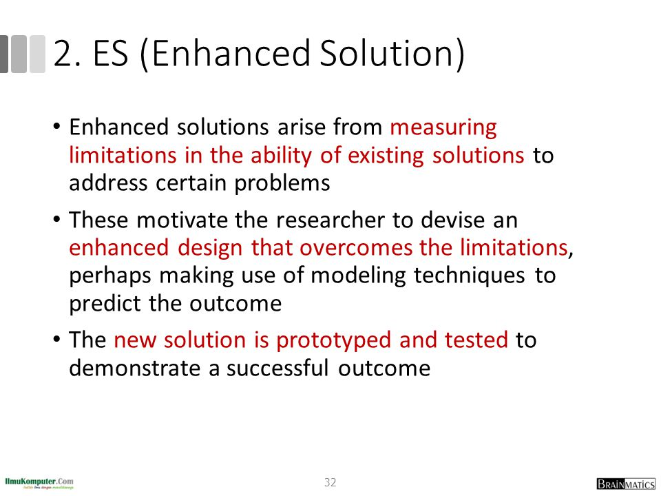 2. ES (Enhanced Solution)