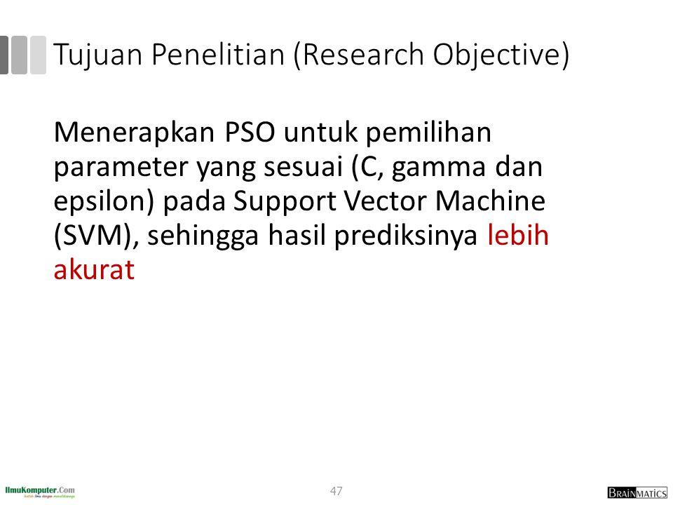 Tujuan Penelitian (Research Objective)
