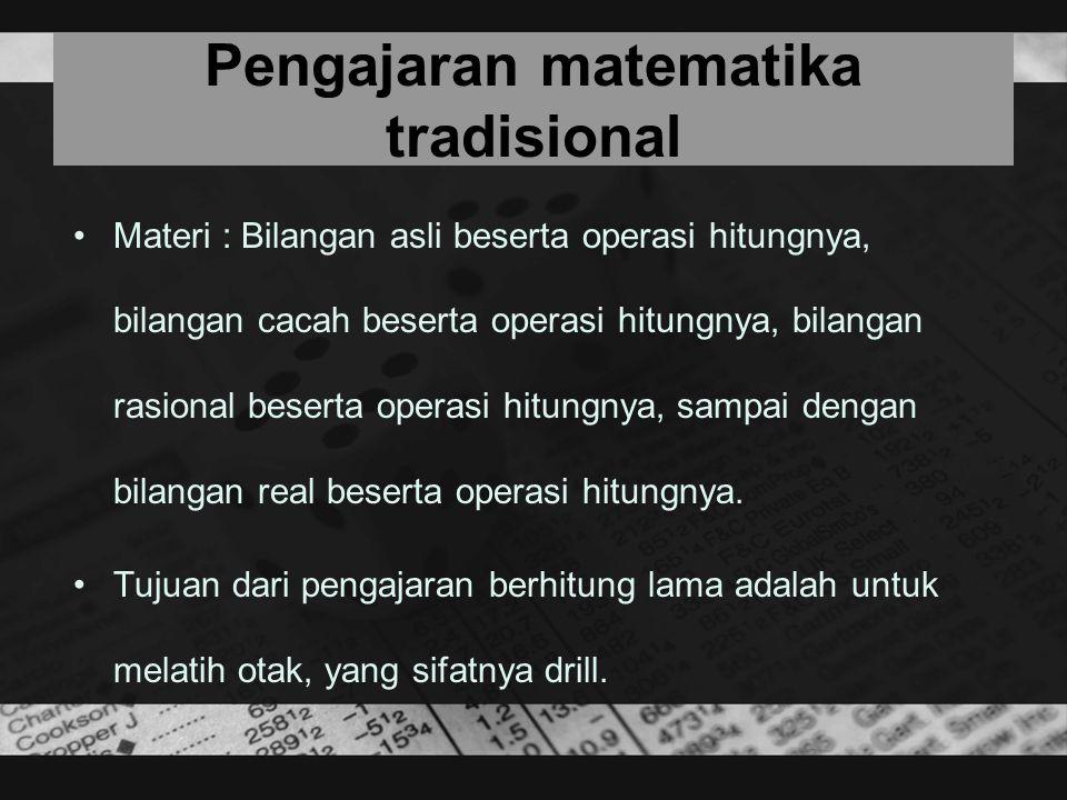 Pengajaran matematika tradisional