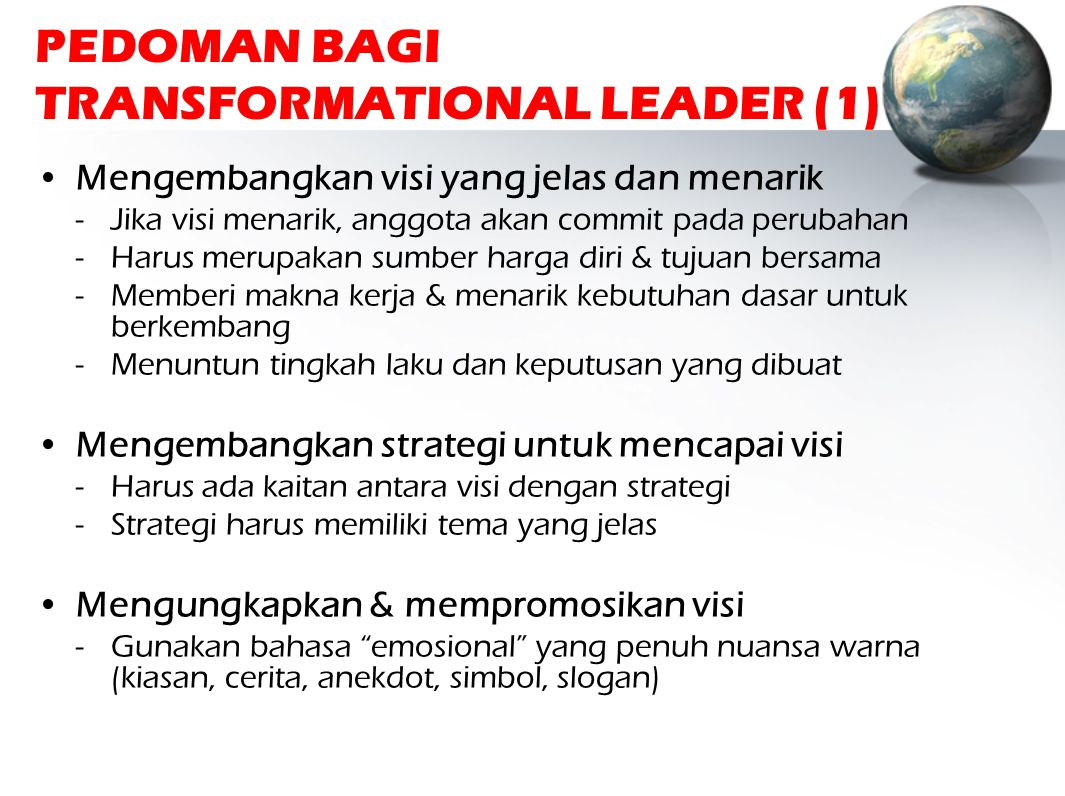PEDOMAN BAGI TRANSFORMATIONAL LEADER (1)