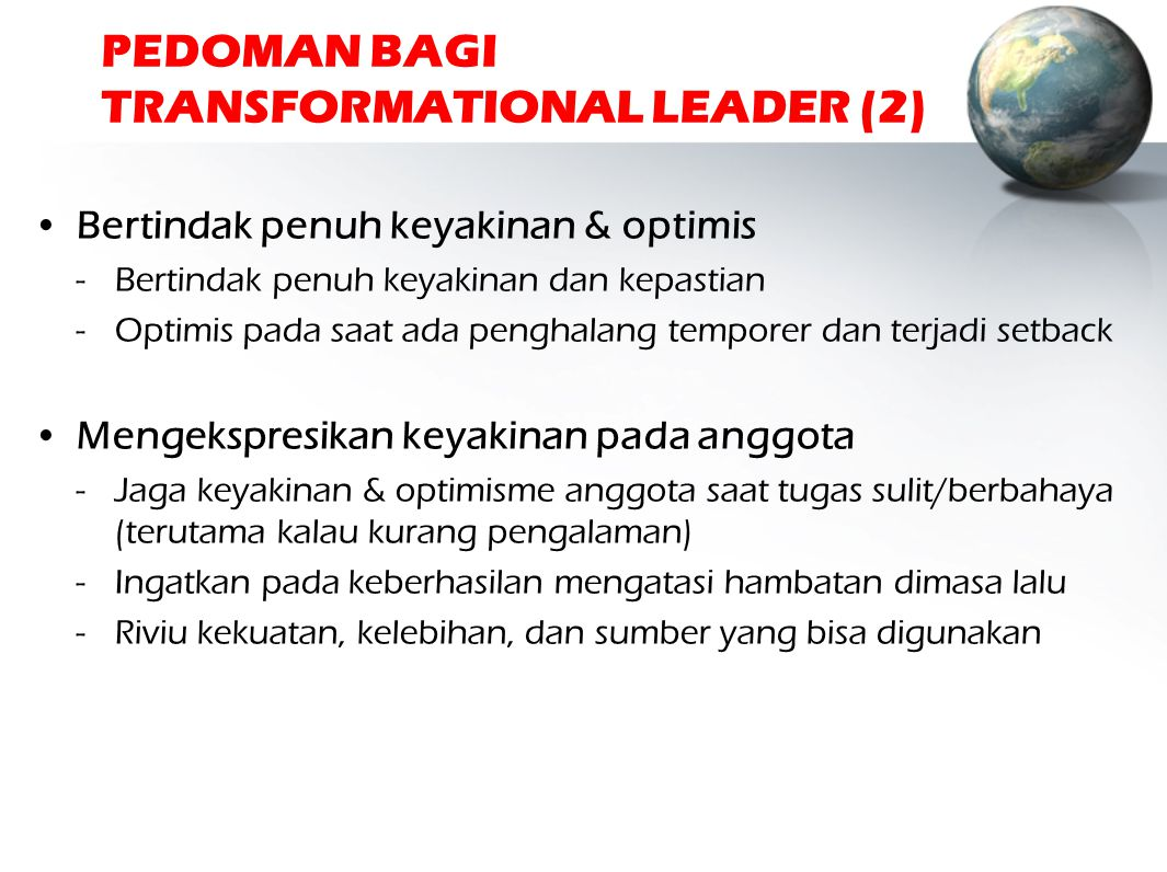 PEDOMAN BAGI TRANSFORMATIONAL LEADER (2)