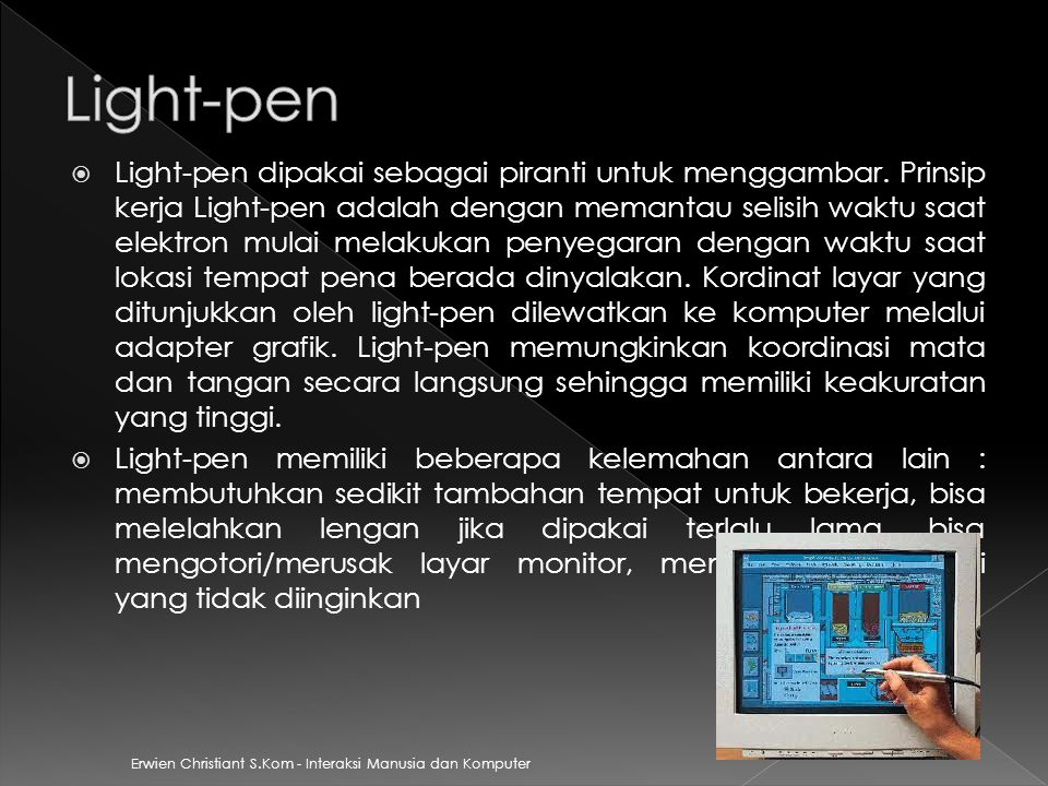 Light-pen