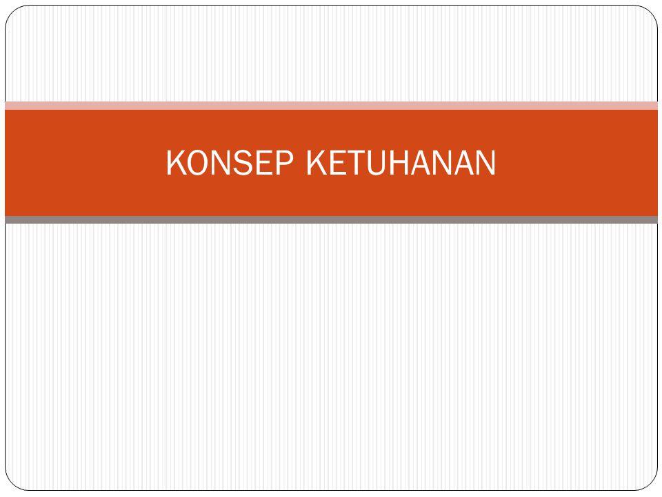 KONSEP KETUHANAN