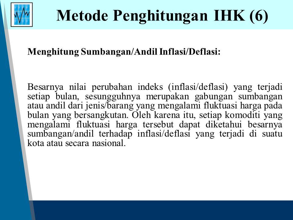 Metode Penghitungan IHK (6)