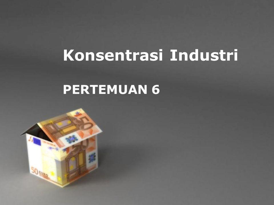 Konsentrasi Industri PERTEMUAN 6 Powerpoint Templates