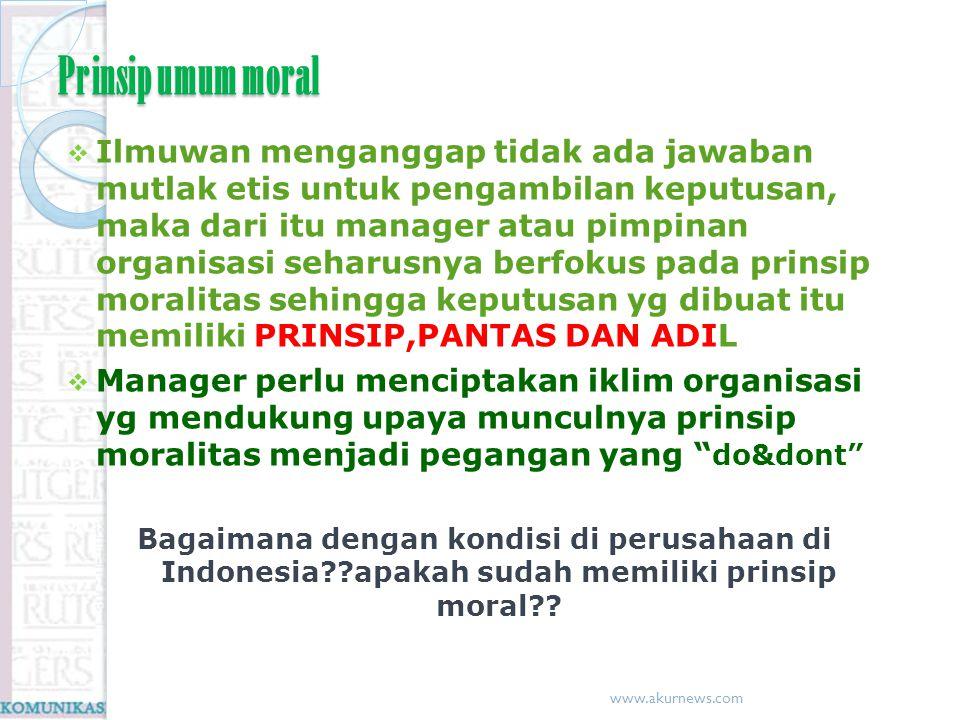Prinsip umum moral