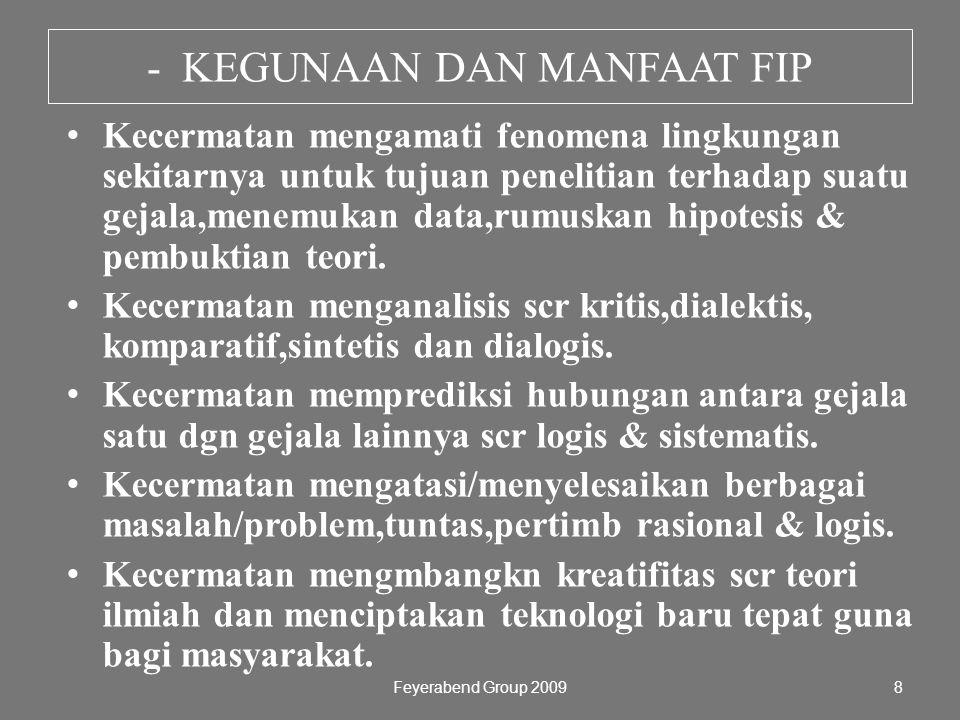- KEGUNAAN DAN MANFAAT FIP
