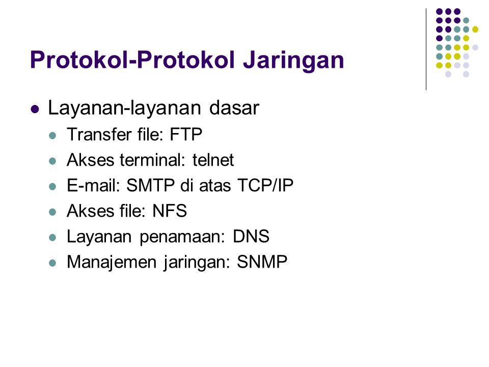 Protokol-Protokol Jaringan