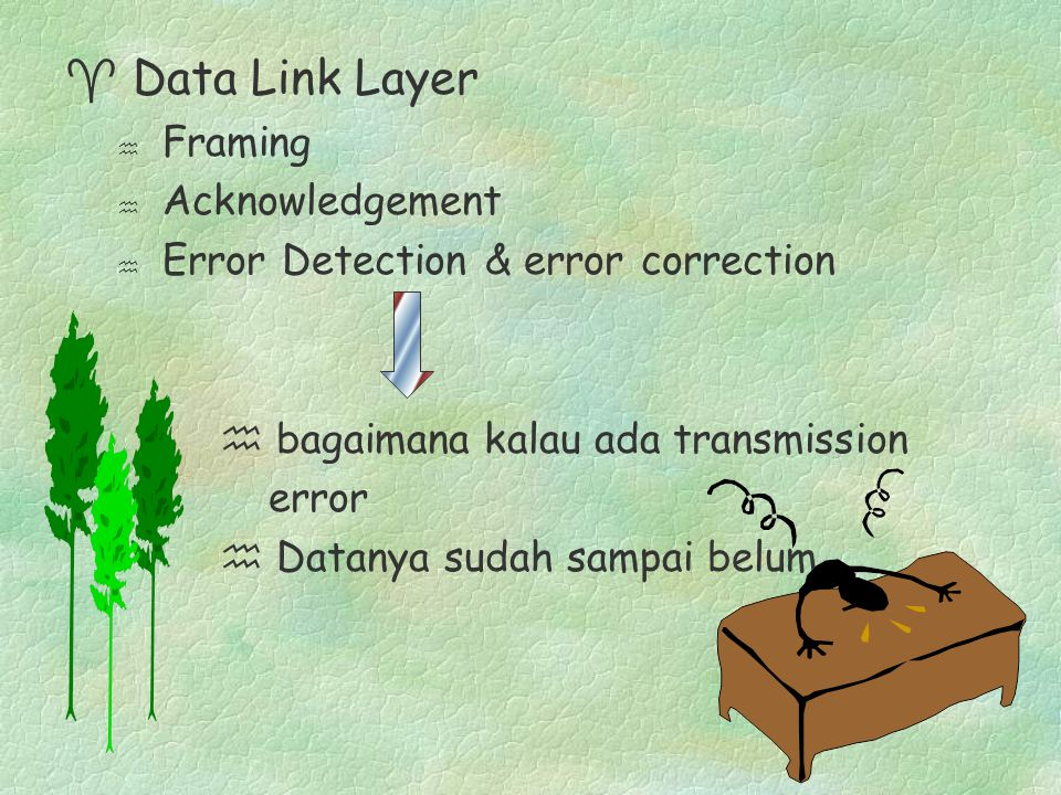 Data Link Layer Framing Acknowledgement