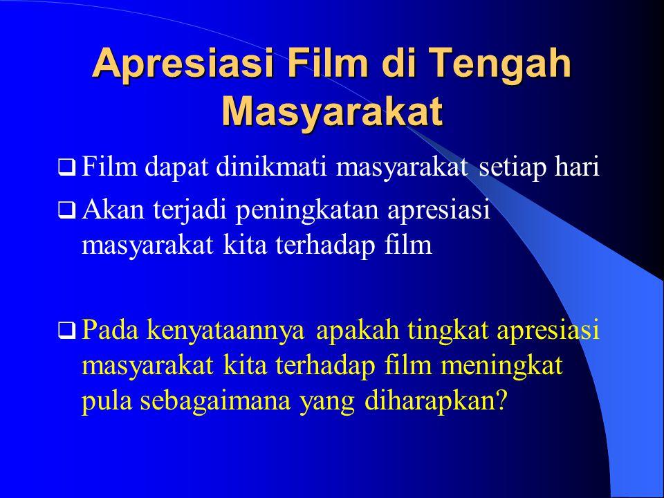 Apresiasi Film di Tengah Masyarakat