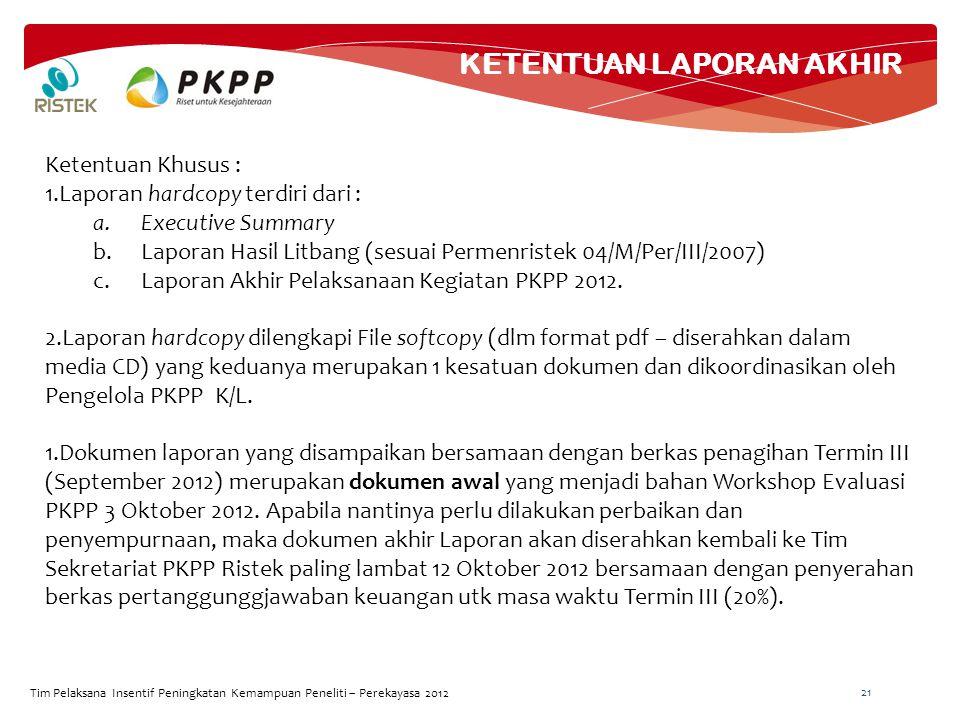 TUGAS PENGELOLA PKPP K/L
