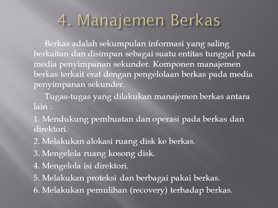 4. Manajemen Berkas