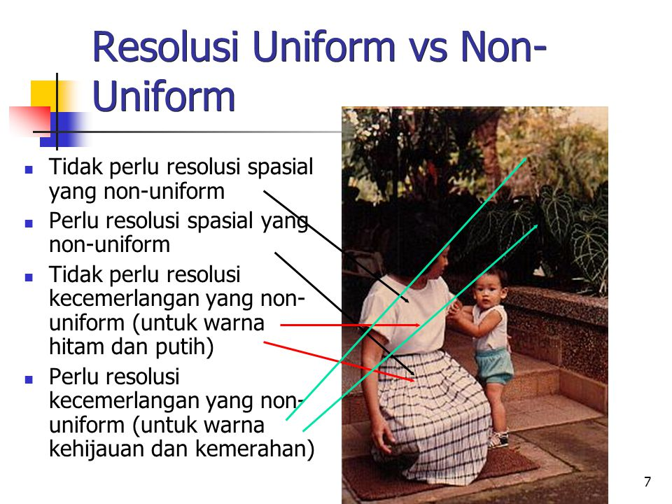 Resolusi Uniform vs Non-Uniform