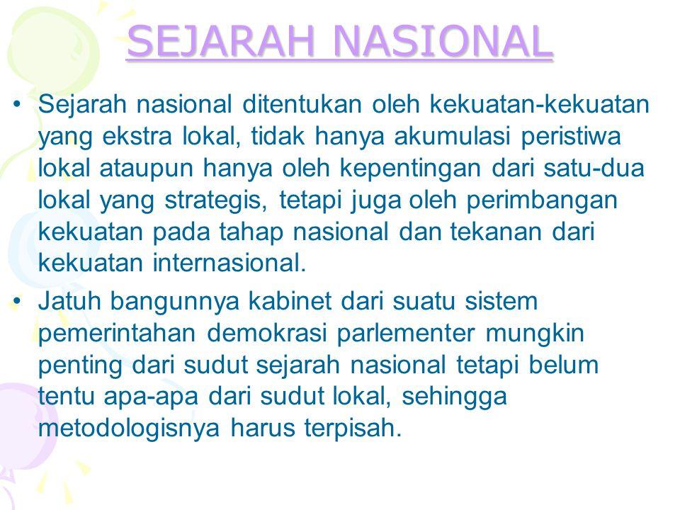 SEJARAH NASIONAL