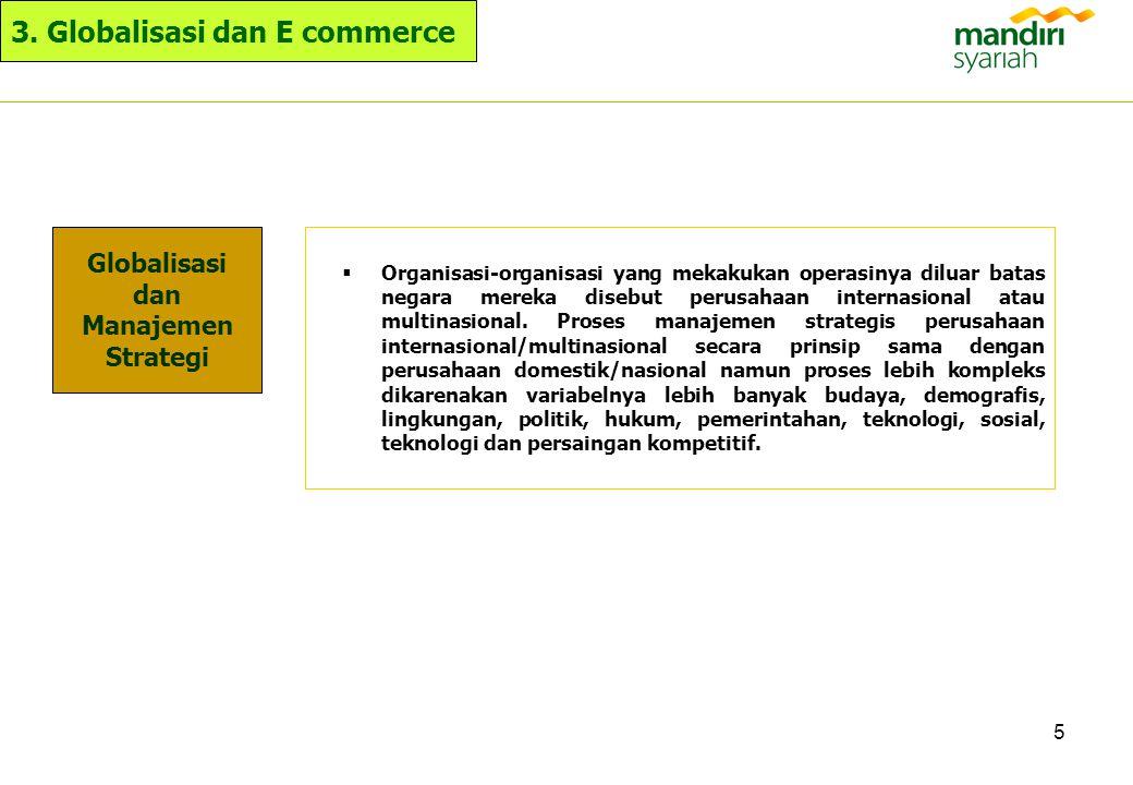 Globalisasi dan Manajemen Strategi