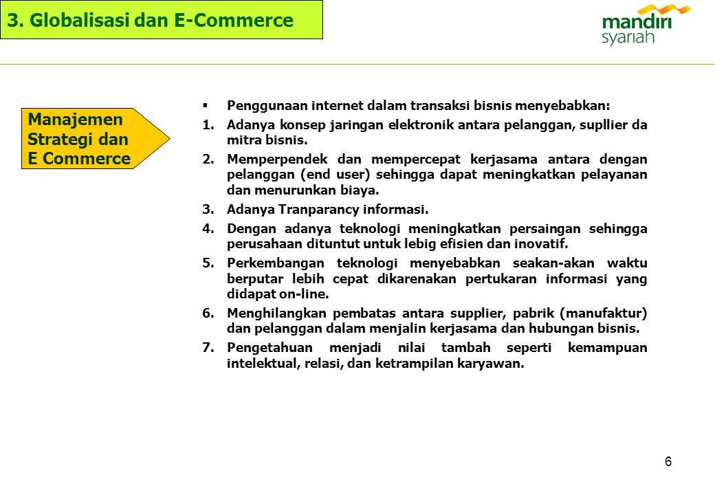 3. Globalisasi dan E-Commerce