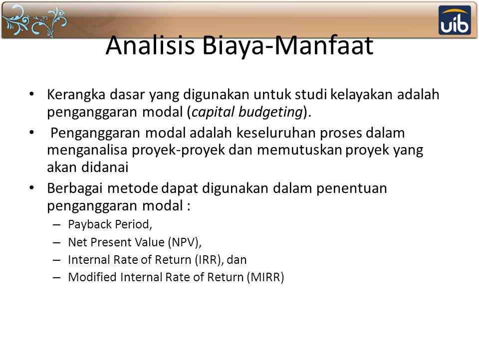 Analisis Biaya-Manfaat