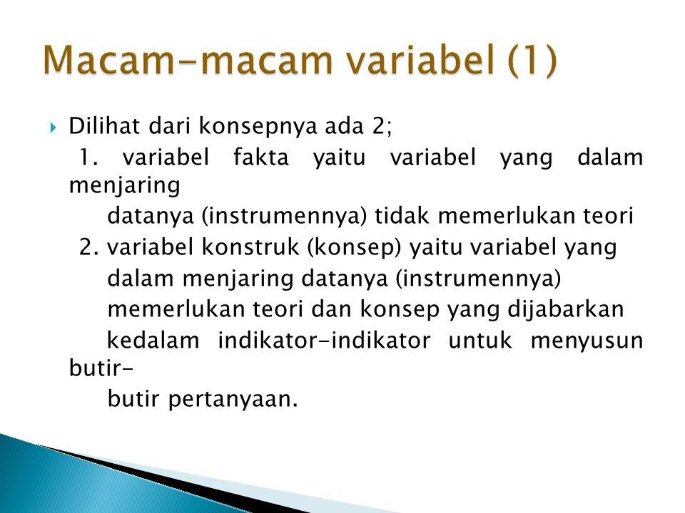Macam-macam variabel (1)