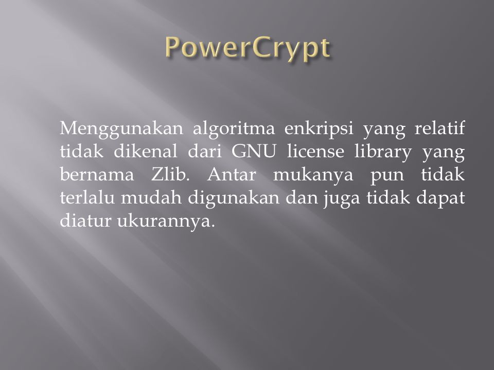 PowerCrypt