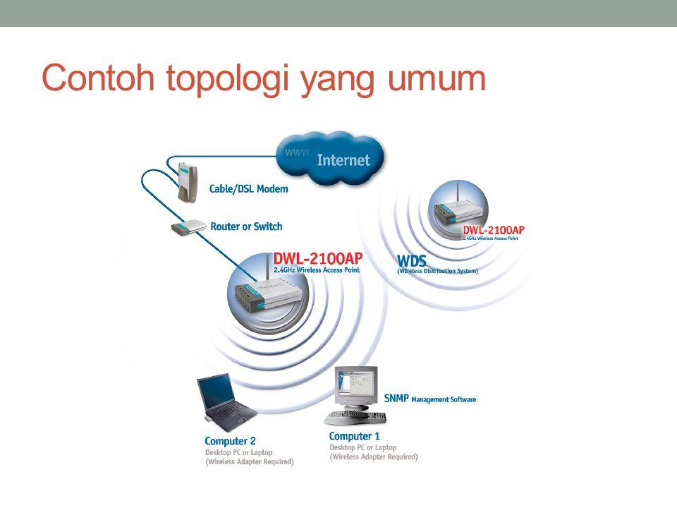Contoh topologi yang umum