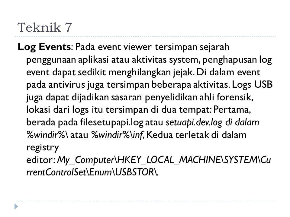 Teknik 7