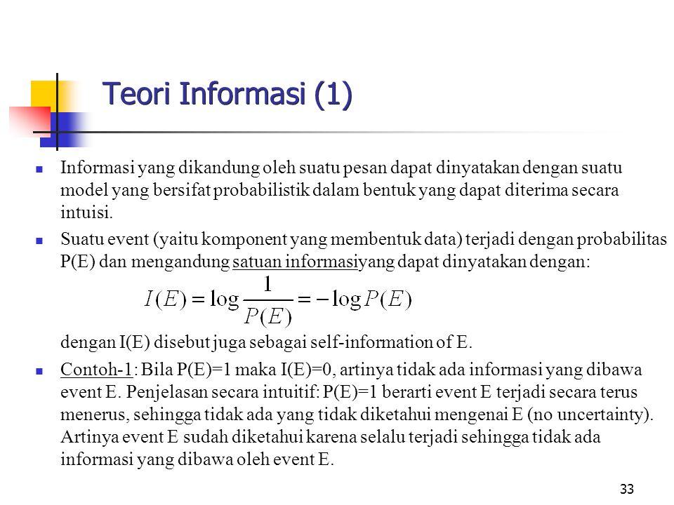 Teori Informasi (1)