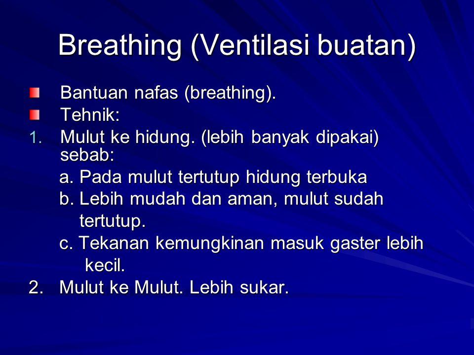Breathing (Ventilasi buatan)