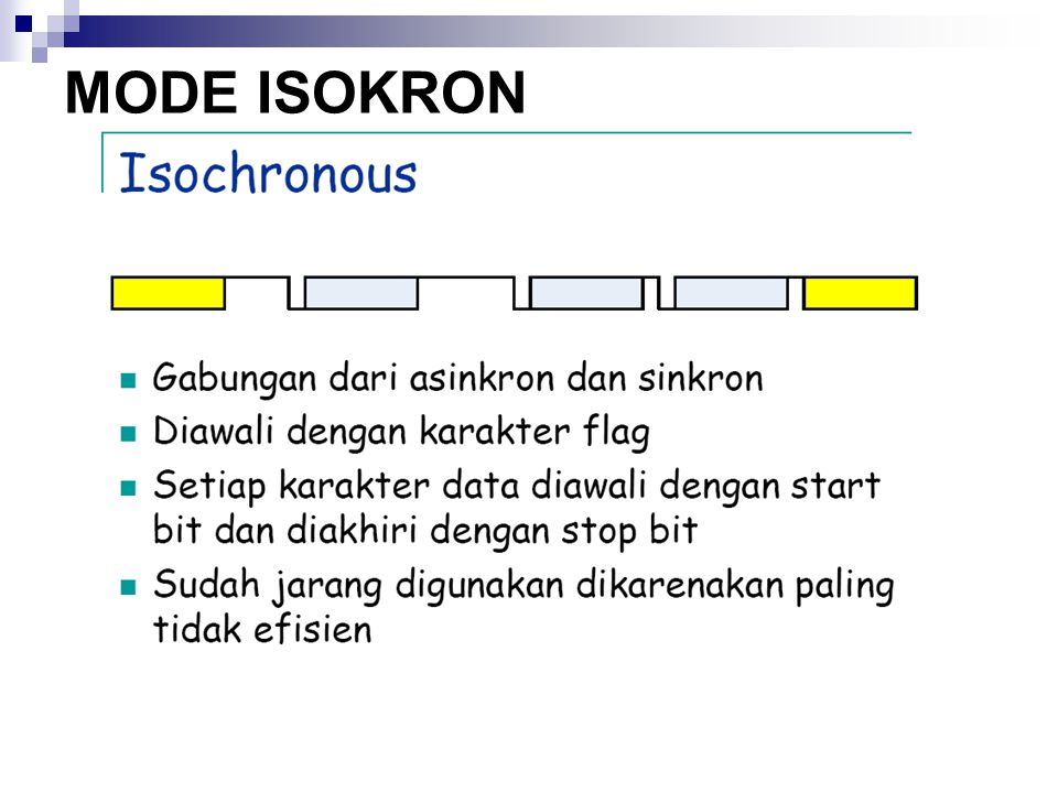 MODE ISOKRON