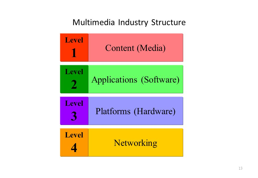 Multimedia Industry Structure