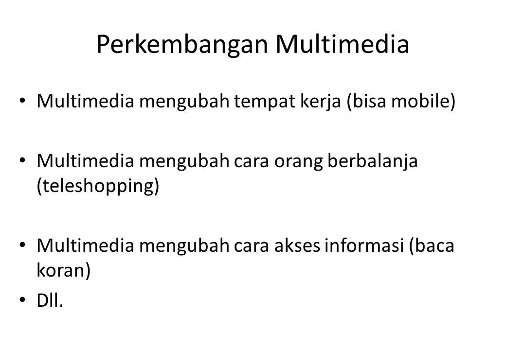 Perkembangan Multimedia