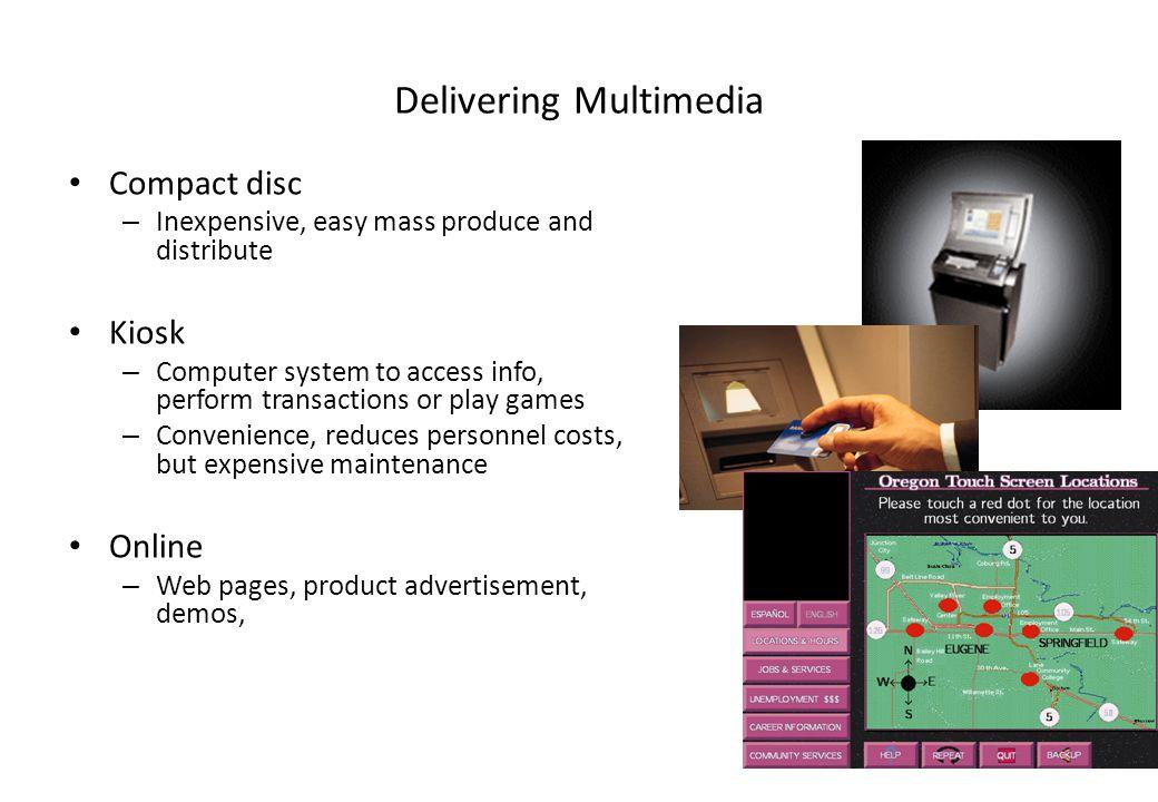Delivering Multimedia