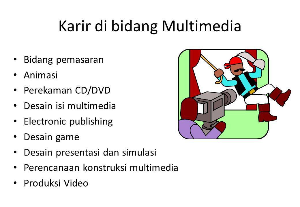 Karir di bidang Multimedia
