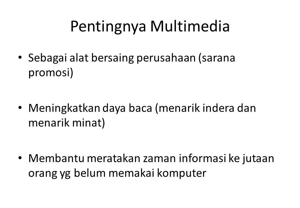 Pentingnya Multimedia